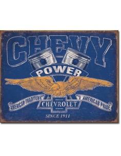 Placa Chevy Power
