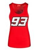 Camiseta Marquez Mujer 93 Tirantes Rojo