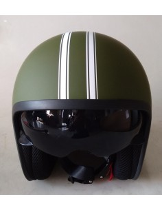 Casco Awen Arrow Custom Verde Militar