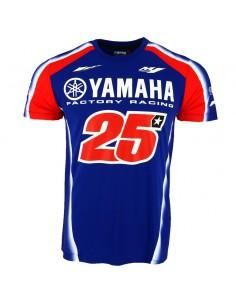 Camiseta Viñales 25 Yamaha Team 2018