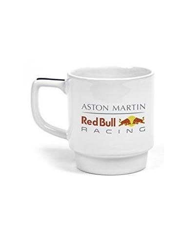 Taza Red Bull Racing Team Logo Blanco