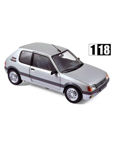 Norev Peugeot 205 GTI 1.6L 1988 Gris Futura