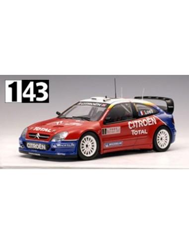 Norev Citroen Xsara WRC Rallye Montecarlo W.C. 2005