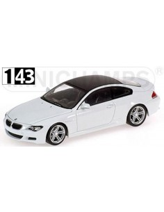 Minichamps BMW M6 Coupe E63 2007 Linea Blanco