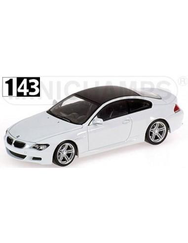 Minichamps BMW M6 Coupe E63 2007 Linea Blanco