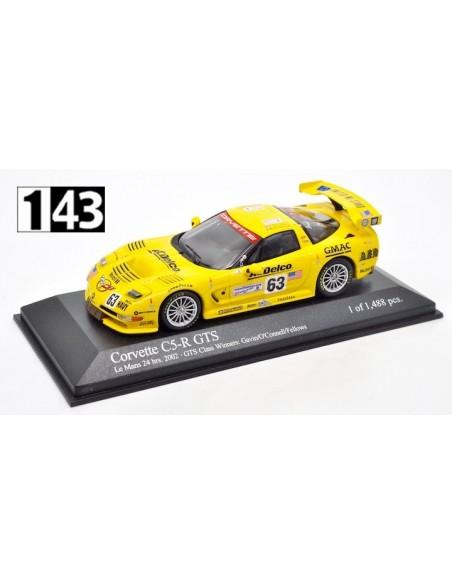 Minichamps Corvette C5-R GTS Class Winners 24h Le Mans 2002