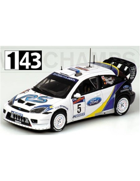 Minichamps Ford Focus RS WRC Rally Argentina 2003