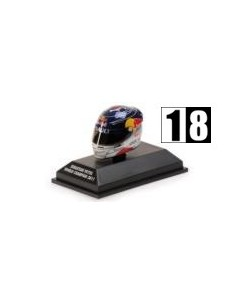 Minichamps Casco Vettel Red Bull World Champion 2011