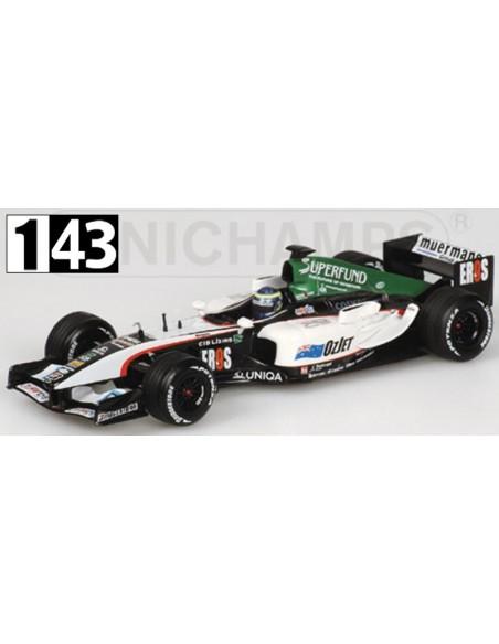 Minichamps Minardi PS04B Baumgartner 2004