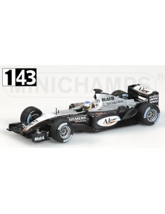 Minichamps McLaren Mercedes MP4/18 A. Wurz Test 2003