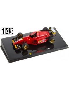 Hotwheels Ferrari 412 T2 J. Alesi GP Europa 1995