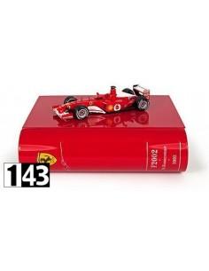 Ixo Ferrari F2002 R. Barrichello W. GP Nurburgring 2002