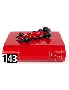 Ixo Ferrari F1 87 G. Berger 1987