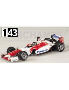 Minichamps Toyota Racing F1 Presentacion Da Matta 2003