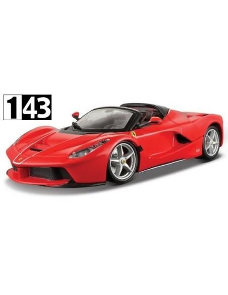 Bburago Ferrari Laferrari Aperta 2017 Rojo
