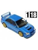 Ixo Subaru Impreza WRX STi 2003 Azul Metalico