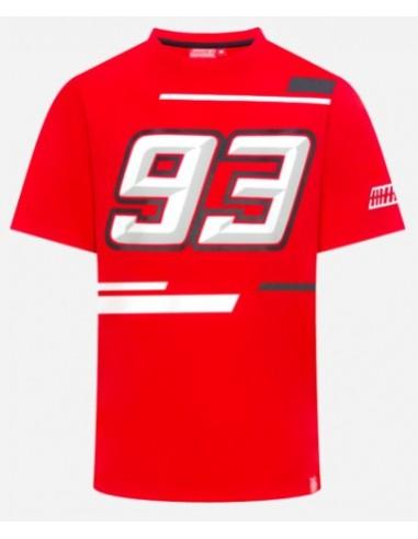 Camiseta Marquez 93 Logo Roja 2019