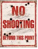 Placa No Shooting