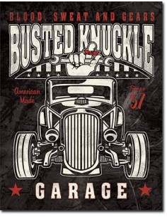 Placa Busted Knuckle Rod