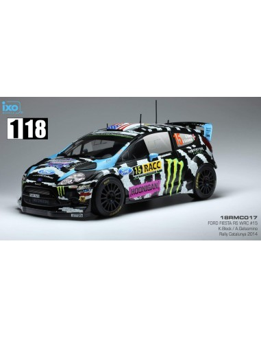 Ixo Ford Fiesta RS WRC Rally Catalunya 2014