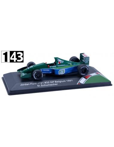 CMR Jordan F1 191 Ford Team 7UP GP Belgica 1991