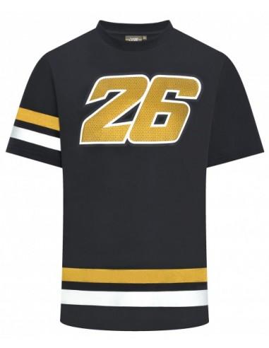 Camiseta Pedrosa 26 Logo Dorado