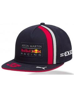 Gorra Aston Martin Red Bull Racing Max Verstappen Flat 2019