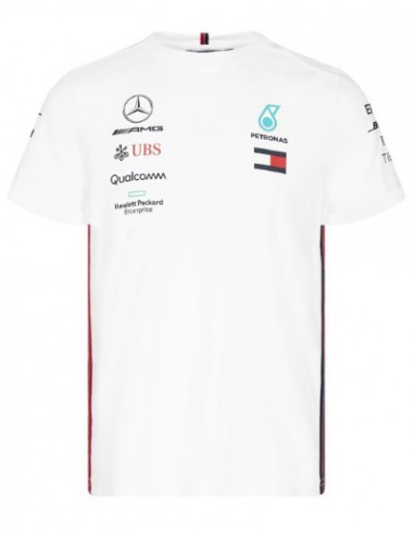 Camiseta Mercedes AMG Petronas F1 Team 2019 Blanco