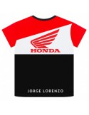 Camiseta Lorenzo 99 Kid Dual Honda 2019