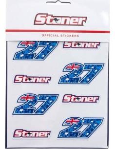 Pack Adhesivos Casey Stoner 27