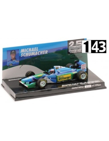Minichamps Benetton Ford B194 F1 World Champion GP Australia 1994
