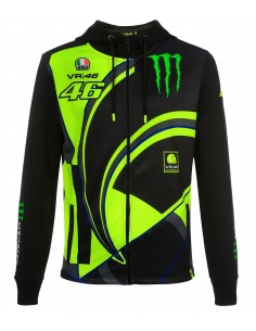 Sudadera Rossi 46 Monster Replica 2019