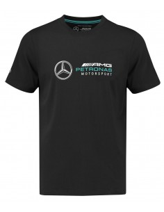Camiseta Mercedes AMG Petronas F1 Kid Fan Negro