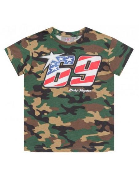 Camiseta Hayden 69 Kid Camo