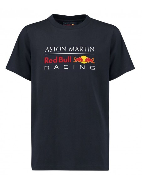 Camiseta Aston Martin Red Bull Racing F1 Kid Fan Azul