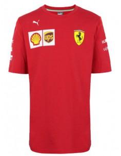 Camiseta Scuderia Ferrari Team F1 Kid 2019