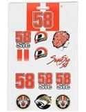 Stickers Simoncelli 58 Small