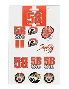 Stickers Simoncelli 58 Small