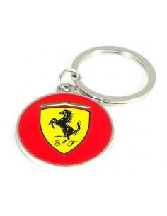 Llavero Ferrari Scudetto Circulo Rojo