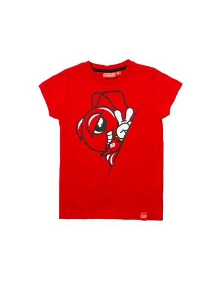 Camiseta Marquez 93 Kid Hormiga Inside Rojo