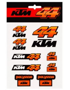 Stickers Pol Espargaro 44 KTM Team