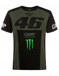 Camiseta Rossi 46 Monster Camp