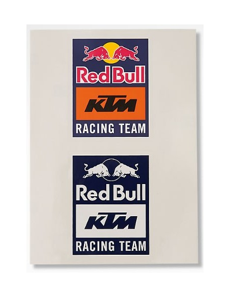 Stickers Red Bull KTM Racing Team