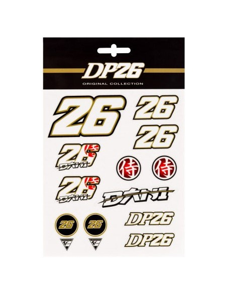 Stickers Pedrosa 26 Mediano