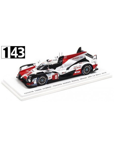 Spark Toyota TS050 Hybrid Team Gazoo Racing Winner 24h Le Mans 2018