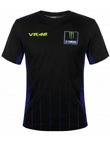 Camiseta Rossi 46 Yamaha Monster Black