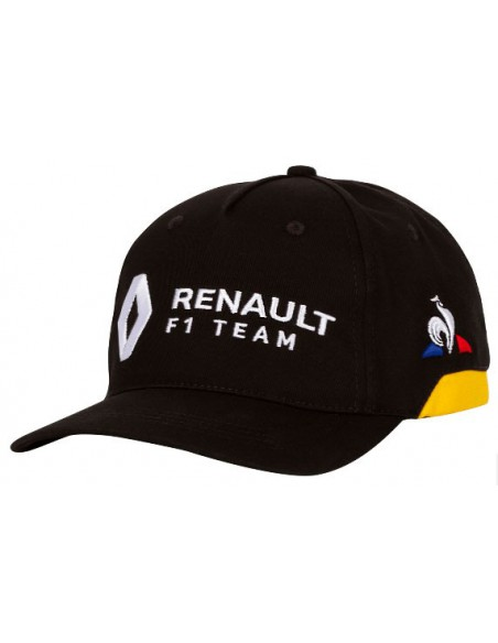 Gorra Renault F1 Team Negro