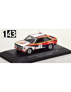 CMR Fiat 131 Abarth Winner Hunsruck Rallye 1980