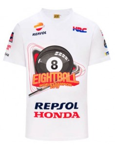 Camiseta Marquez 93 Eightball World Champion 2019