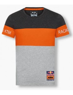 Camiseta Red Bull KTM Racing Kid Letra Block